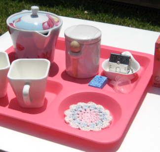 TEA SET ACTIVITY