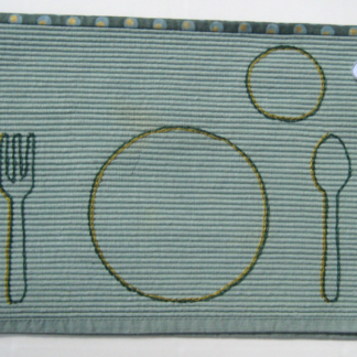 GreenGoldPlacemat